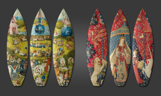 Renaissance Art Adorned Surfboards by boom-art