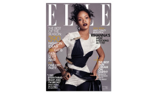 Rihanna Covers 'ELLE' December 2014