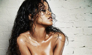 Rihanna Shows Some Skin for 'Esquire' December 2014