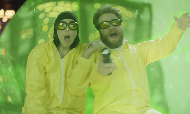 Seth Rogen And Sarah Silverman In Short Film Highsnobiety