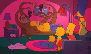 Watch The Simpsons x Futurama Crossover Episode Couch Gag