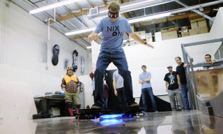Watch Tony Hawk Try Out the World's First Real Hoverboard