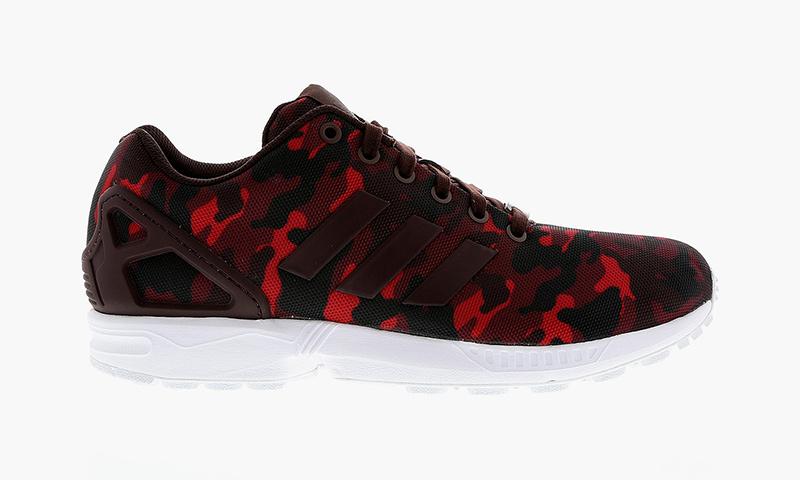 Adidas Flux Red Camo