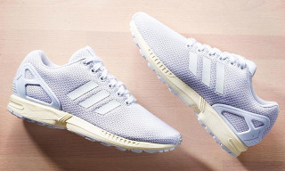 "adidas Originals ZX Flux ""All White"""