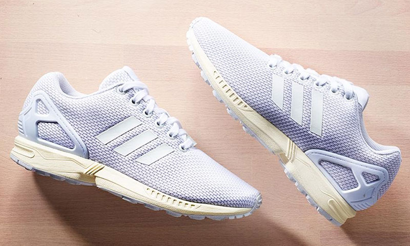 adidas all white