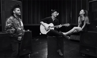 "Watch Ariana Grande and The Weeknd's Acoustic Video for ""Love Me Harder"""