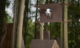Watch BMXers Drew Bezanson and Morgan Wade in 'Dark Woods'