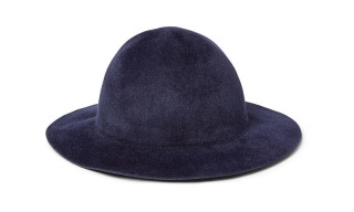 Burberry Prorsum Rabbit-Felt Hat