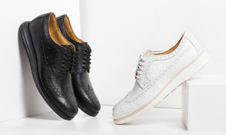 "Cole Haan Lunargrand Long Wingtip ""Ostrich"" Pack"