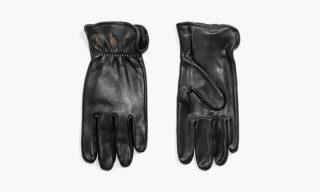 'Desillusion' x Iron and Resin Elk Hide Gloves