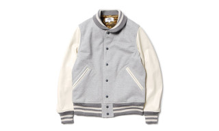 "eYe COMME des GARCONS JUNYA WATANABE MAN ""Terry Cotton"" Varsity Jacket"