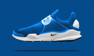 "A First Look at the fragment design x Nike Sock Dart ""Photo Blue"""