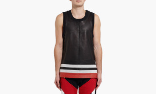 Givenchy Perforated Leather Basketball Top