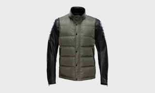 ISAORA Winter 2014 Combo Down Moto Jacket