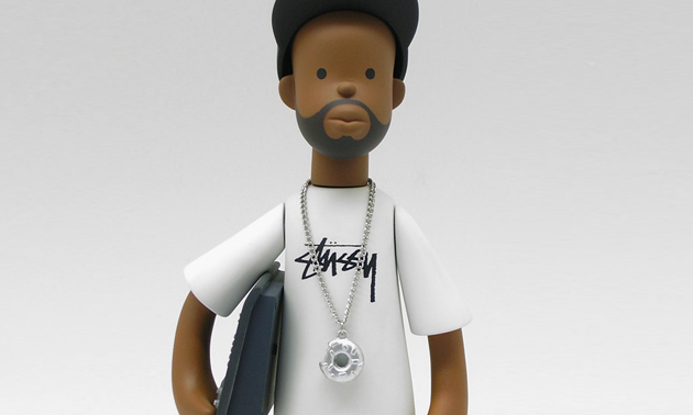 J Dilla X Stussy Vinyl Toy By Pay Jay Productions