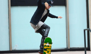 Watch Justin Bieber Show Off His Skateboard Skills in NYC
