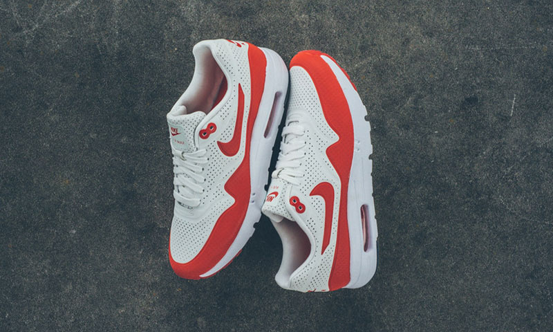 quality design 3cde1 a8a11 low-cost Nike Air Max 1 Ultra Moire OG Red Highsnobiety