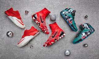 """Nike Basketball 2014 """"Christmas"""" Collection"""
