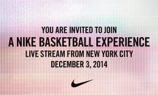 Live Stream Nike Basketball's Signature Athlete Special Event