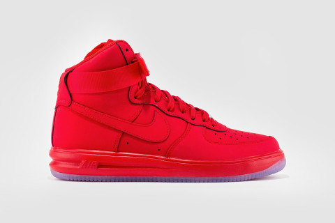 best website 65f47 5d6e3 ... Just when you thought you d seen the last of the Yeezy-induced tonal  red Nike Lunar Force 1 Hi 14 university ...