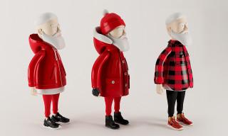 Santa Goes Street for Christmas 2014