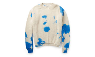 The Elder Statesman Dip-Dyed Cashmere Sweater