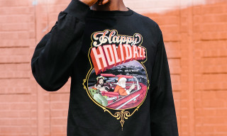 "Undefeated x Mr. Cartoon ""Holiday Homies Pt. II"" Tee and Billboard"