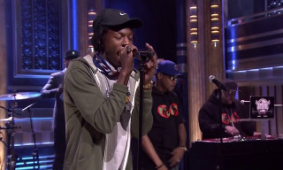 "Watch Joey Bada$$ & BJ the Chicago Kid Perform ""Like Me"" with The Roots on 'The Tonight Show'"