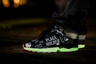 Adidas Zx Flux Glow In The Dark