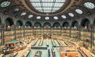 Franck Bohbot's 'House of Books' Series Highlights the Libraries of Paris & Rome