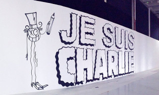 "Parisian Artists Pay Tribute with ""Je Suis Charlie"" Mural"