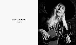 Joni Mitchell stars in Saint Laurent's Music Project