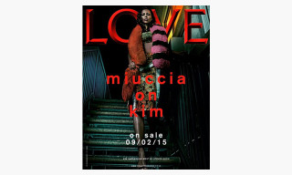 Kim Kardashian Covers LOVE Magazine