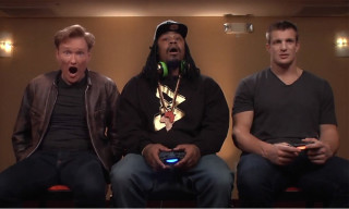 Watch Marshawn Lynch & Rob Gronkowski Play 'Mortal Kombat X' with Conan O'Brien