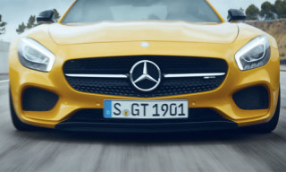 "Mercedes-Benz Takes Direct Hit Against Porsche with Its New Mercedes-AMG GT ""Dreamcar"" TV Commercial"