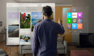 Microsoft Introduces HoloLens for High-Definition Holograms