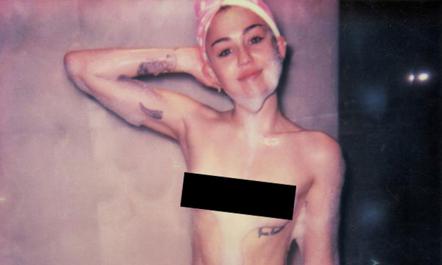 Miley cyrus full frontal pic