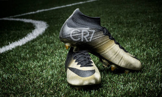 "Nike Unveils Diamond-Studded Mercurial CR7 ""Rare Gold"" Boots"