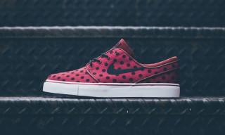 "Nike SB Stefan Janoski Premium ""Polka Dot Burgundy"""
