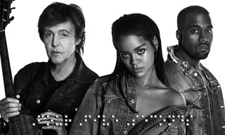 "Listen to Rihanna's ""FourFiveSeconds"" featuring Kanye West & Paul McCartney"