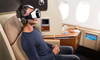 Qantas and Samsung Offer Virtual Reality to Airline Clients