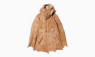 "TAKAHIROMIYASHITA The SoloIst. ""Rough Out Anorak"" Jacket"