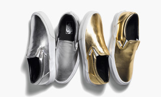 "Vans Spring 2015 Classic Slip-On ""Metallic"" Pack"