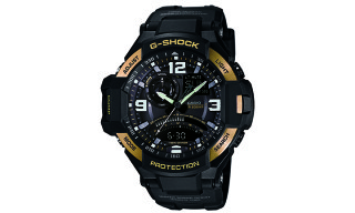 G-SHOCK GA-1000 Gold Bezel