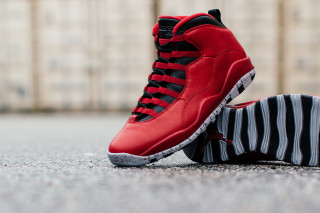 outlet store sale 433b1 9b4c9 real jordan 10 black red broadway 511f2 62024
