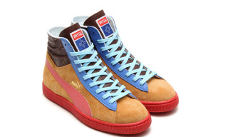 "PUMA × Ojaga Design Suede Mid ""Made In Japan"""