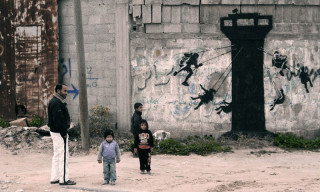 Banksy Takes Over Gaza for His Latest Project