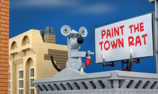 New Banksy Pieces Recreated in LEGO by Jeff Friesen