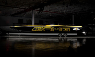 Cigarette Racing Unveils 50-foot Marauder Boat Inspired by AMG GT S