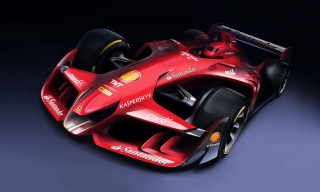 Scuderia Ferrari Envisions the F1 Car of the Future
